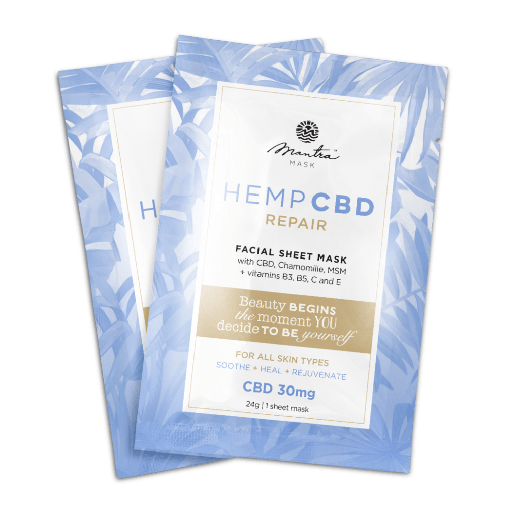 CBD Repair facial sheet mask